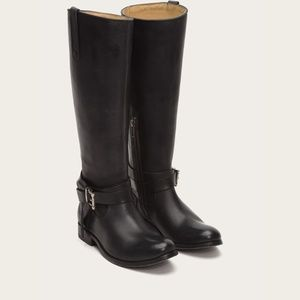 NWB Frye Melissa Tall Knotted Leather Riding Boot